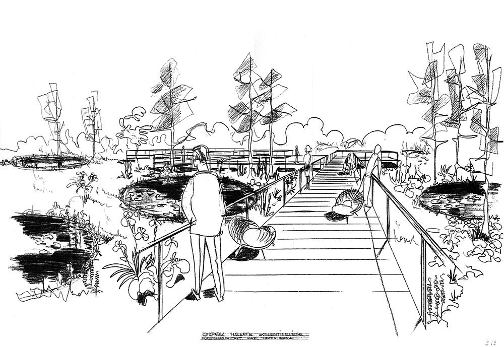 Zeichnung: Plomin-Archiv 1969