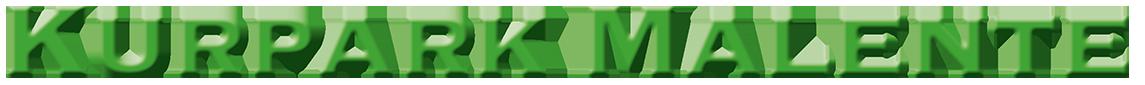 Logo Kurpark Malente in einer Zeile